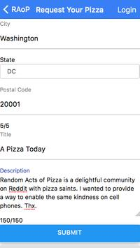Random Acts of Pizza screenshot 2