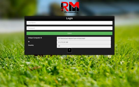 RM Commentary apk screenshot