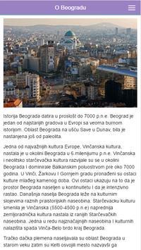 Belgrade Info apk screenshot