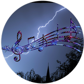 Storm sound for sleeping icon