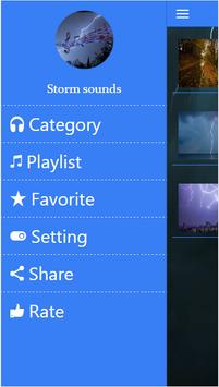 Storm sound for sleeping screenshot 1