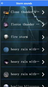 Storm sound for sleeping screenshot 3