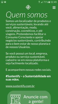 Sustentify poster