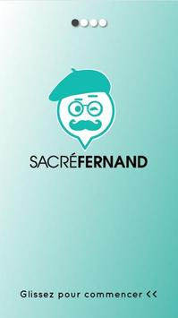 Application Sacré Fernand poster