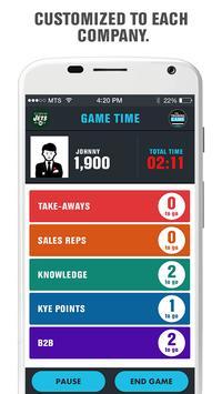 Training Game by Sales Huddle apk screenshot