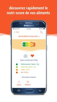 Scan Eat - Scanner alimentaire pour mieux manger Screenshot 4