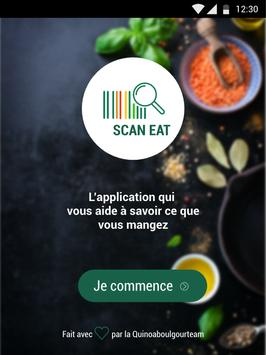 Scan Eat - Scanner alimentaire pour mieux manger Screenshot 5