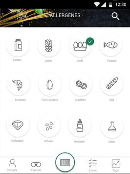 Scan Eat - Scanner alimentaire pour mieux manger Screenshot 7