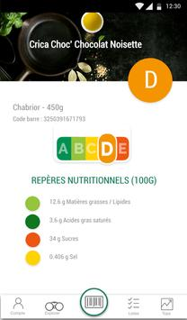 Scan Eat - Scanner alimentaire pour mieux manger Screenshot 9