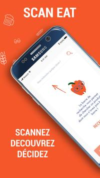 Scan Eat - Scanner alimentaire pour mieux manger ポスター