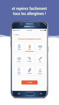 Scan Eat - Scanner alimentaire pour mieux manger Screenshot 3