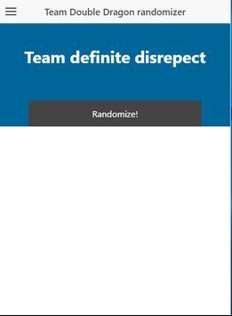 Team DD randomizer poster