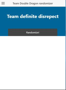 Team DD randomizer apk screenshot