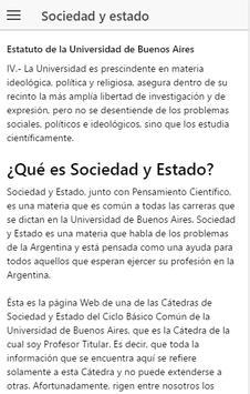 Sociedad Estado poster