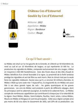 Somm'it - Carte des vins screenshot 3