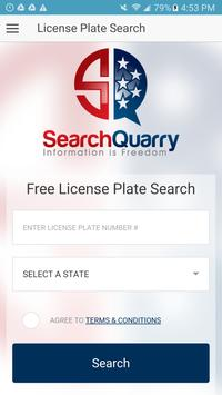 Free License Plate Search App poster