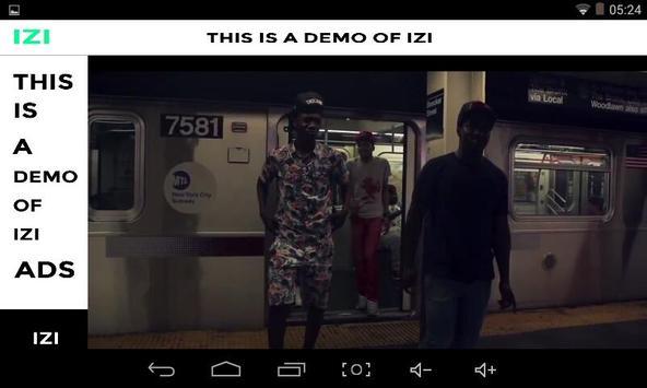 IZI poster