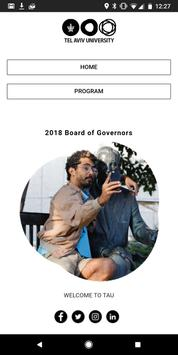 TAU - Board of Governors poster
