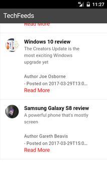 TechFeeds apk screenshot