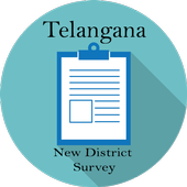 Telangana New Districts Survey icon