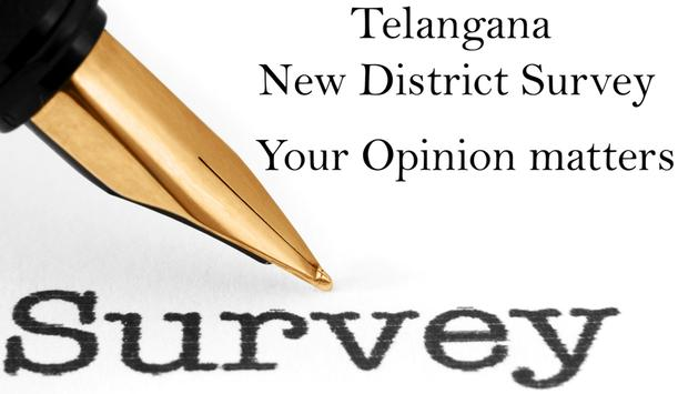 Telangana New Districts Survey apk screenshot