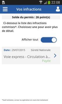 Infractions routières screenshot 4