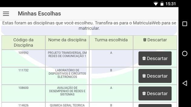 matriculeMe screenshot 4