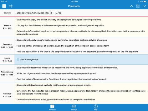 TeacherPlanBook screenshot 10