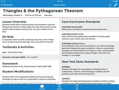 TeacherPlanBook screenshot 12