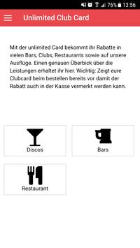 Unlimited Reisen screenshot 2