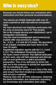 Easy Uk Visa Thailand screenshot 2
