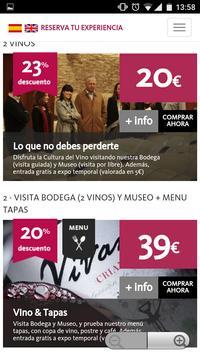 Experiencias-Vivanco apk screenshot