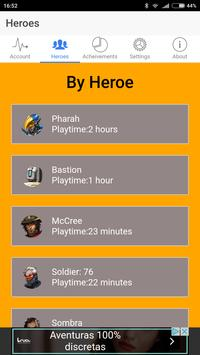 Watchover for Overwatch apk screenshot