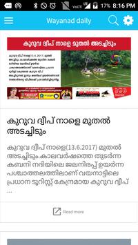 Wayanad Daily poster