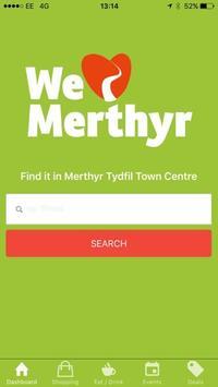 We Love Merthyr poster