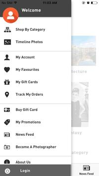 Zilikoo - Shopping App Limited Edition Photographs apk screenshot
