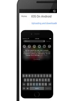 Run IOS On Android screenshot 6