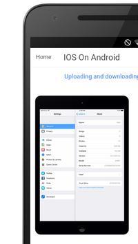 Run IOS On Android screenshot 15