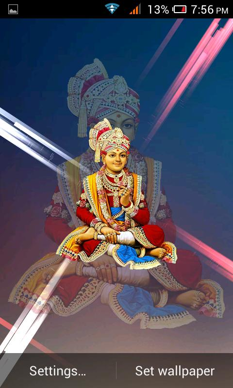 Swaminarayan HD Live Wallpaper Poster