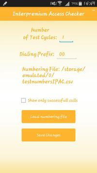 PREMIUM RATE ACCESS CHECKER apk screenshot