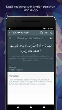 6 Kalmas of Islam apk screenshot