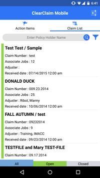 ClearClaim Mobile apk screenshot