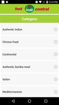 Food Central apk screenshot