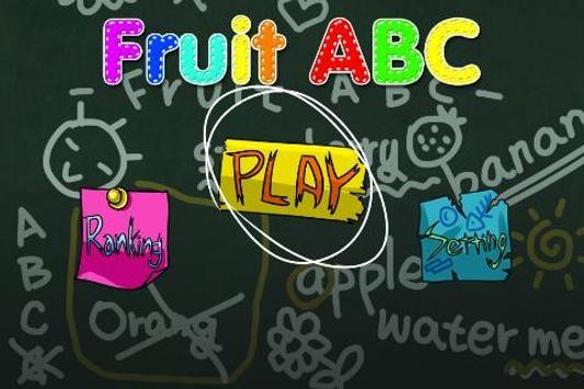 Fruit ABC Free ™ apk screenshot