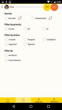 Clokr Tasks screenshot 1