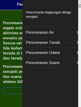 Pencemaran apk screenshot