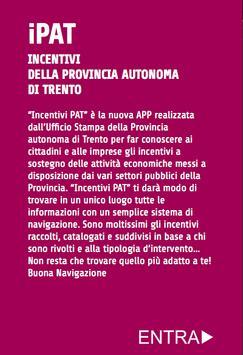 iPAT-Incentivi PAT phone poster