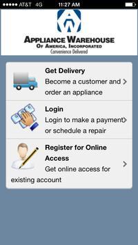 Appliance Warehouse Mobile screenshot 4