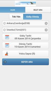 Uçak Bileti Karşılaştır screenshot 1