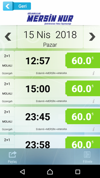 Mersin Nur Turizm screenshot 1